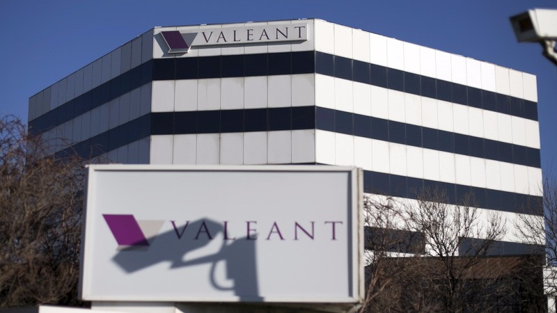 SEC probe cause shares of Valeant to tank