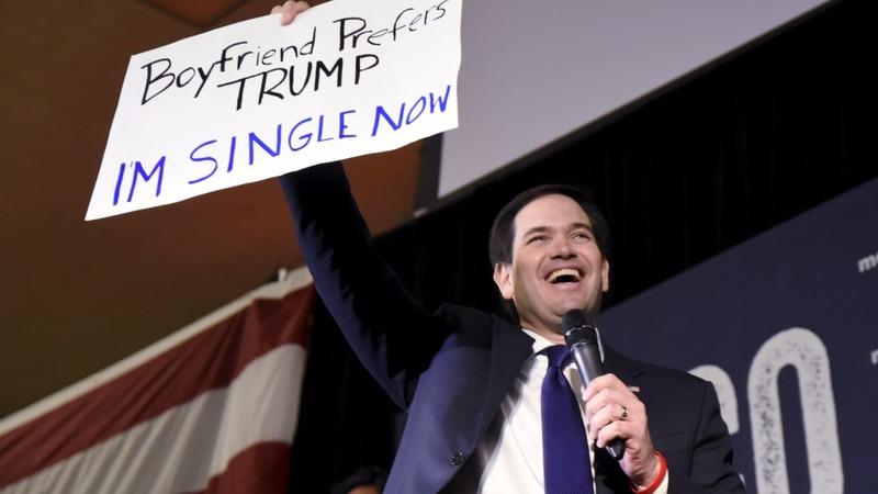 VERBATIM: Rubio, Trump trade Super Tuesday insults