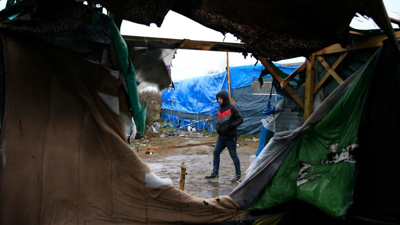 INSIGHT: Police demolish Calais 'Jungle' camp
