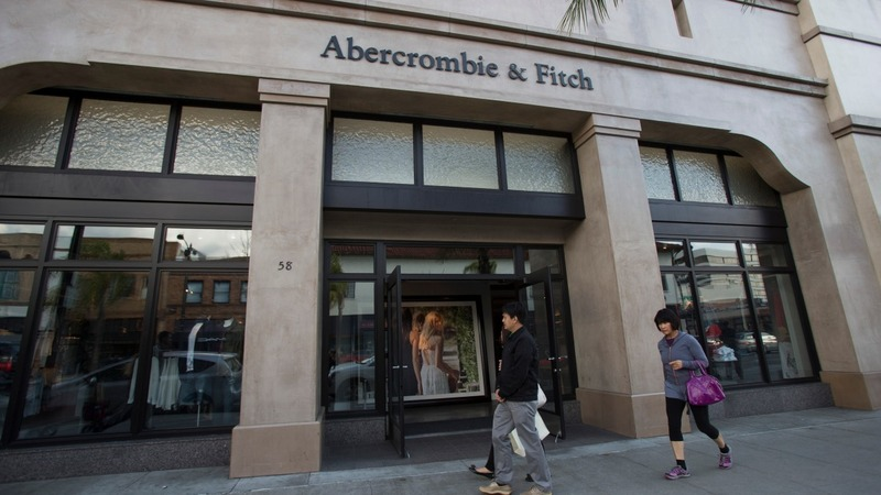 Abercrombie & Fitch scores a rare sales win