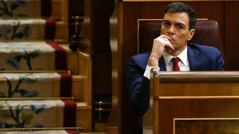 Spain says adios to Sanchez PM bid