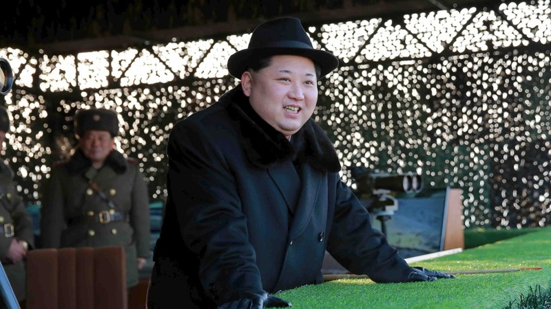 North Korea fires projectiles after UN sanctions