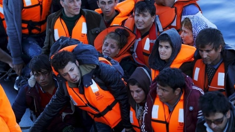 Migrants leave Turkey despite EU quota call