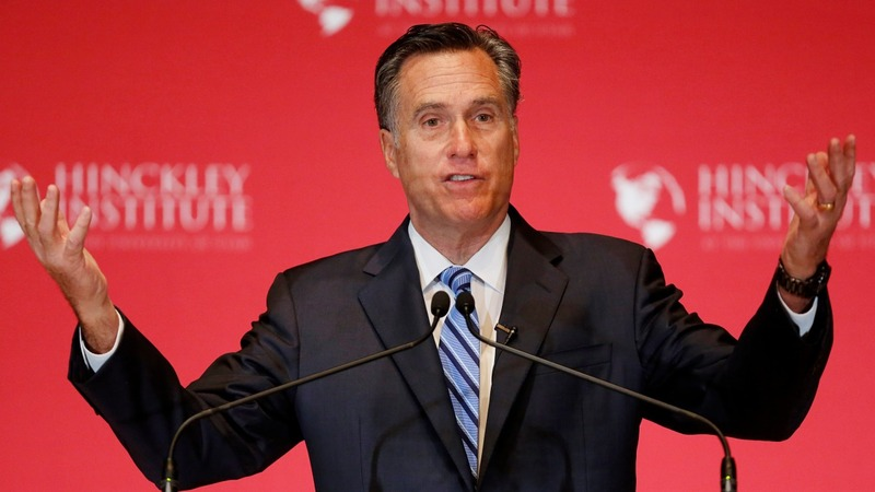 Romney suggests convention fight to stop Trump