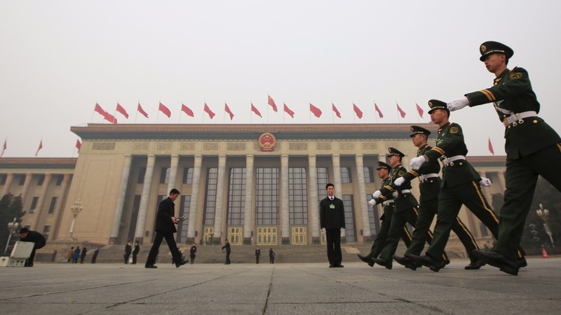 Economy center stage at China's parliament