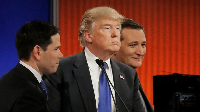 VERBATIM: Trump's the target in Detroit