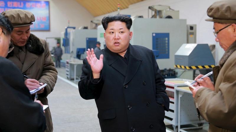 North Korea's Kim says get nukes ready