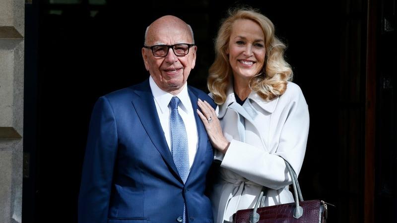 Media tycoon Murdoch marries ex-model