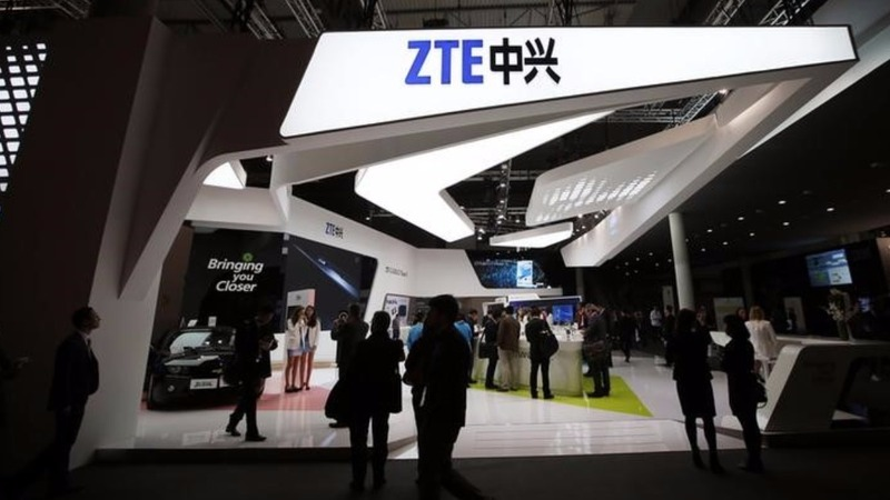 U.S. to slap China's ZTE with export curbs