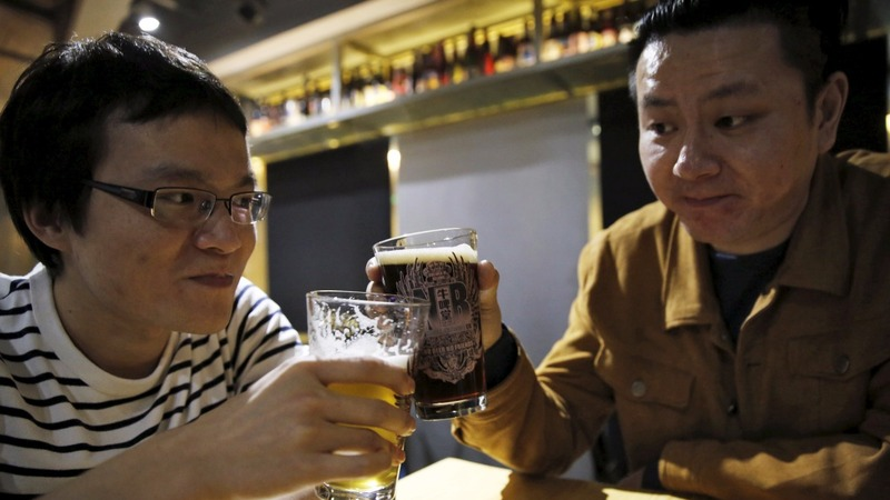 Brewers tap China's thirst for high-end beer