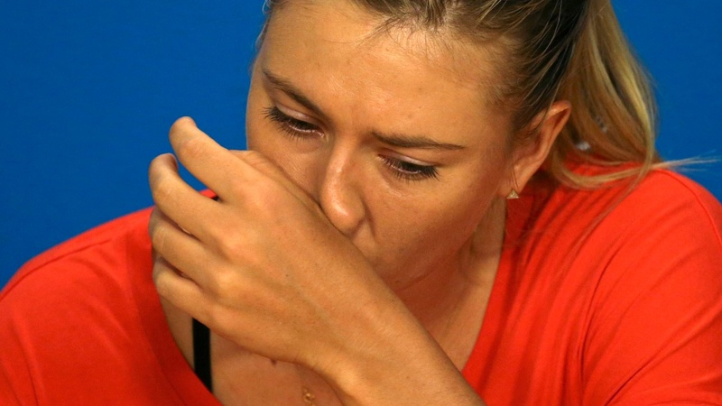 Sharapova suspended after failing drug test