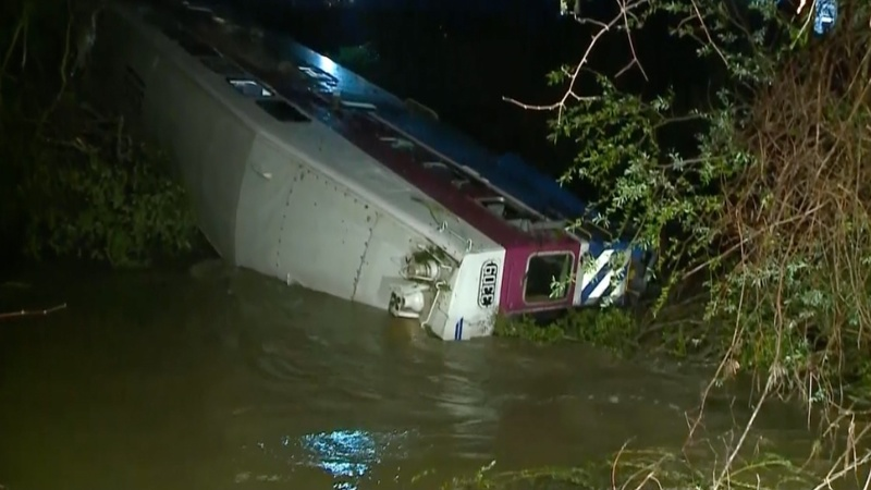 INSIGHT: Bay Area commuter train derails into creek