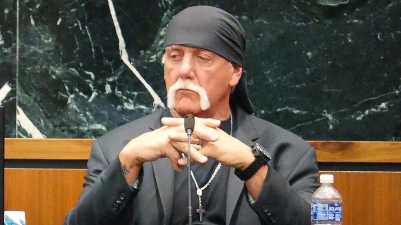Hulk Hogan in the ring again fighting Gawker