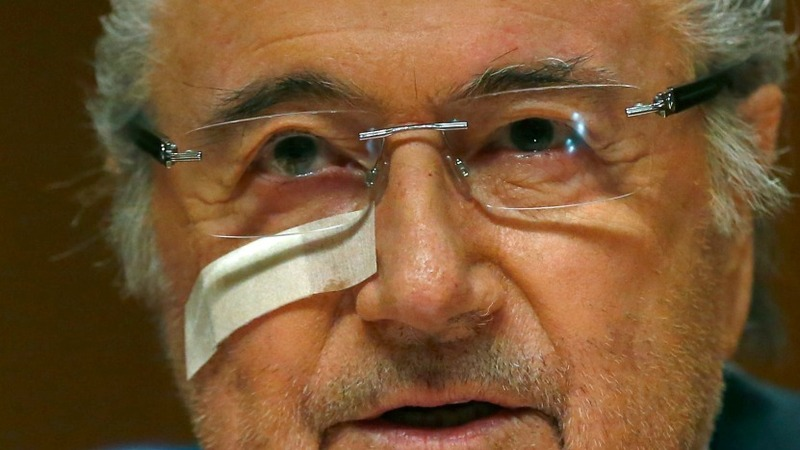 French federation raided in Blatter case