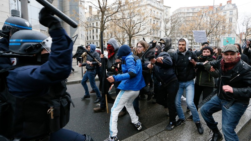 INSIGHT: Protests and rail strikes hit Paris