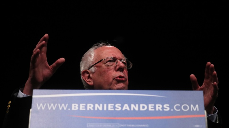 A Sanders surge in Michigan, but an uphill delegate fight