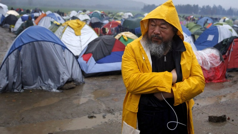 INSIGHT: Ai Weiwei visits Greek migrant camp