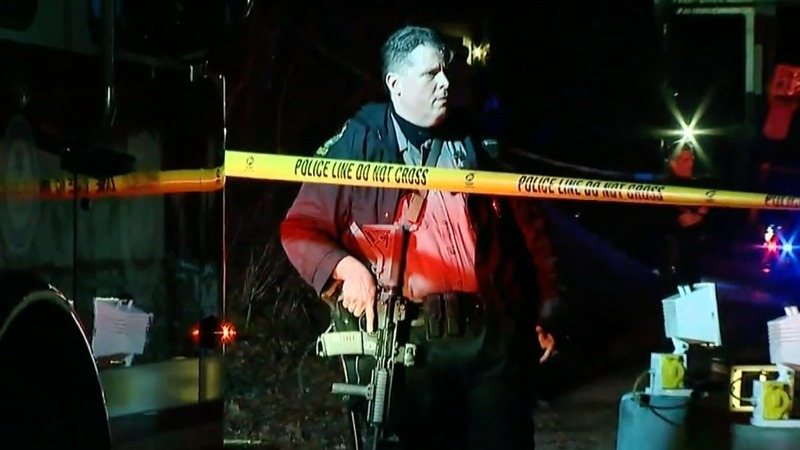 Police search for suspects, motive in PA shootings