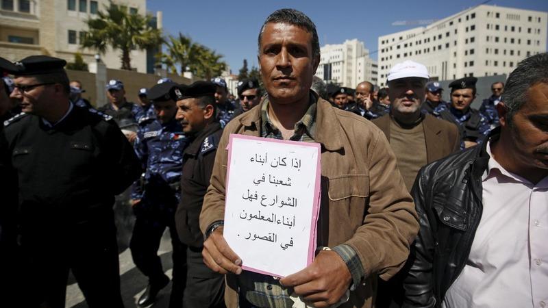 Teachers' strike causes West Bank chaos