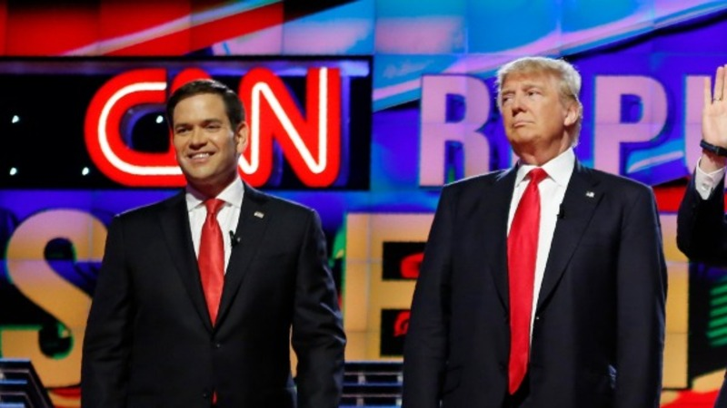 Trump and Rubio clash over Islam