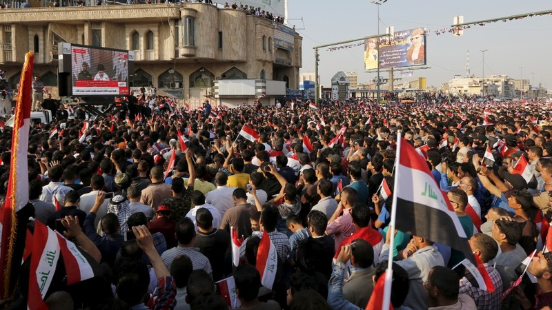 Anti-graft protest grips Baghdad