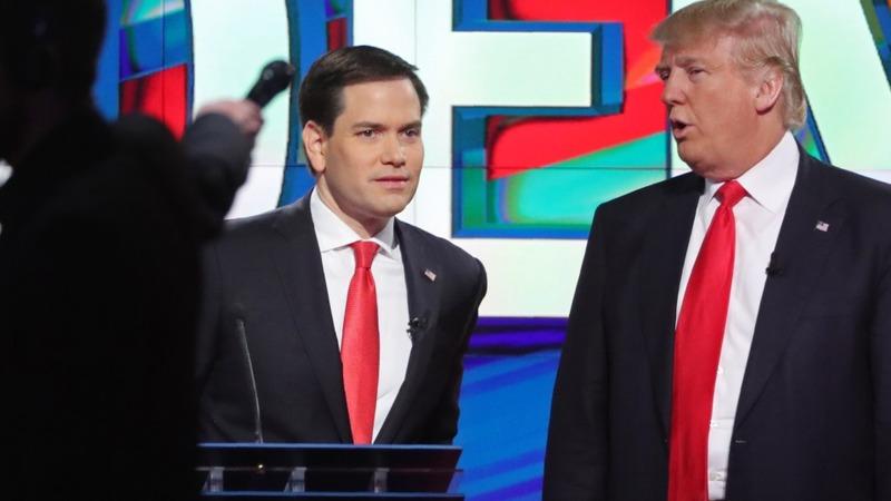 VERBATIM: Rubio slams Trump on Israel
