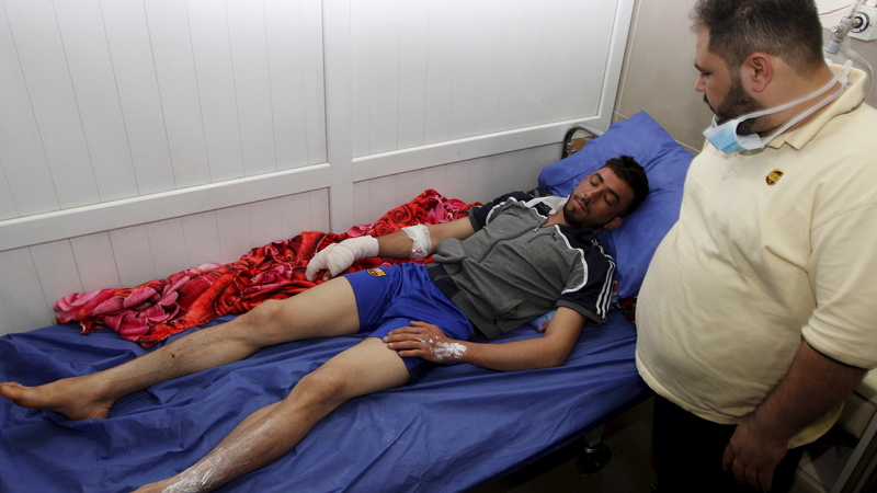Islamic State unleashes chemical attack in Iraq