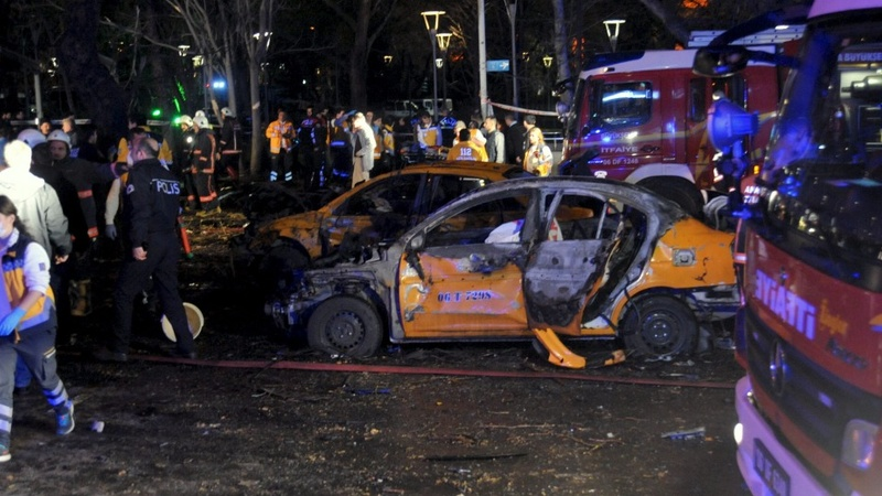More than 30 dead in car bomb in Turkish capital
