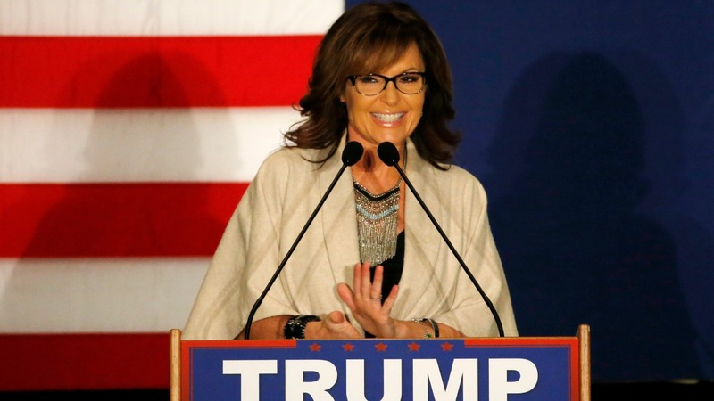 Palin cuts campaign short after husband's crash