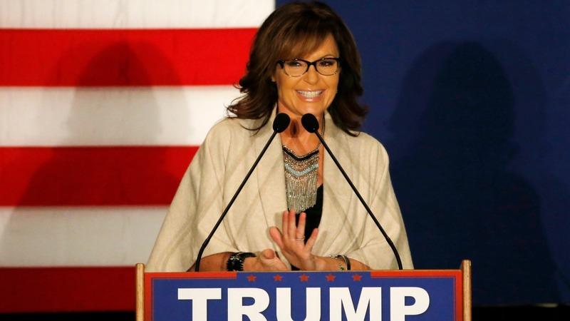 Palin cuts campaign short after husband's crash