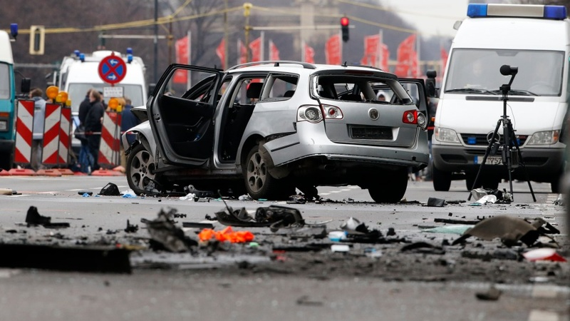 One man killed in Berlin car blast