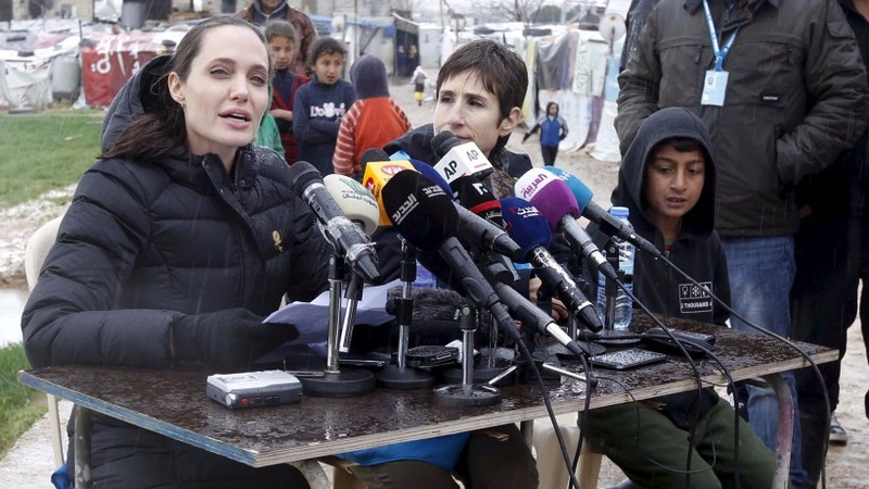 INSIGHT: Angelina Jolie visits Syrian refugees