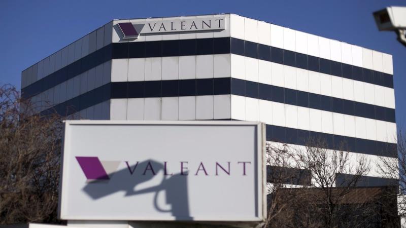 Valeant stock tanks after warning of default