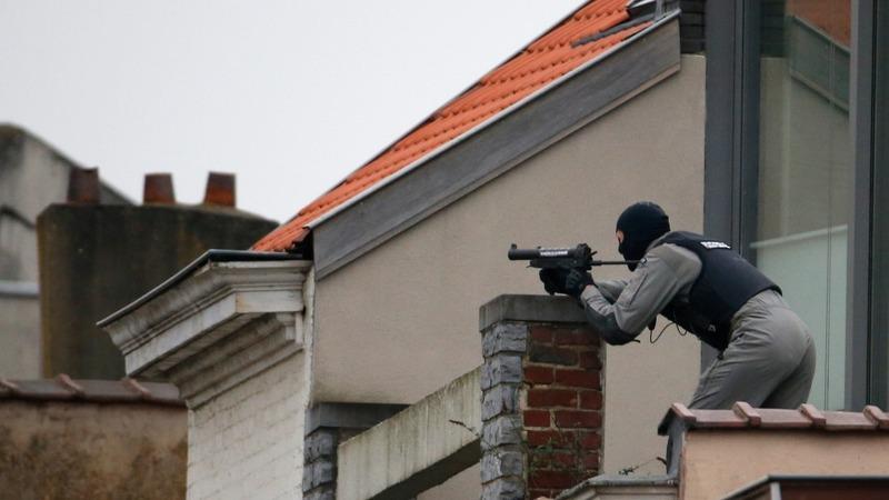 Police kill gunman in Brussels raid