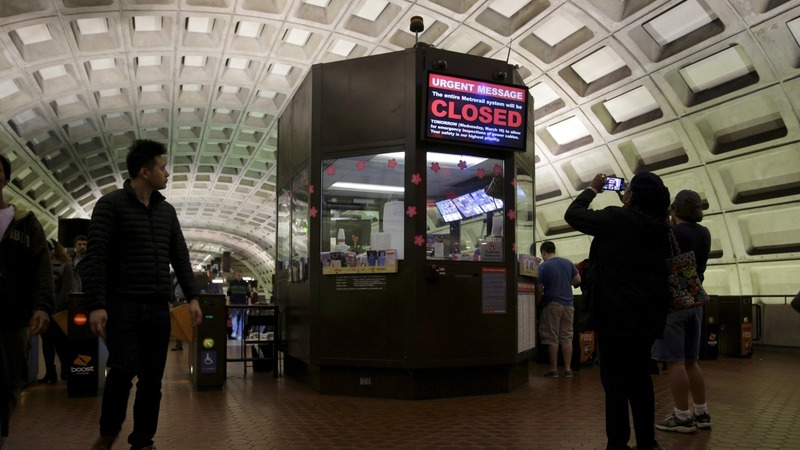 DC Metro closing Wed for safety checks