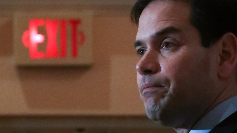 VERBATIM:  Rubio suspends 2016 campaign