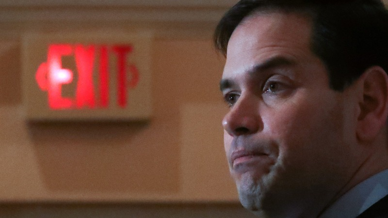Rubio's exit changes the 2016 game