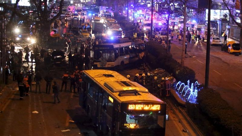Kurdish militant group behind Ankara bombing