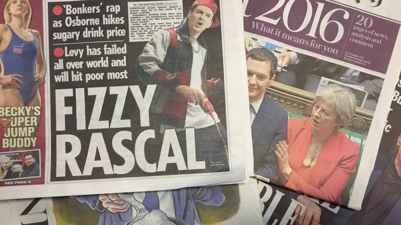 'Fizzy Rascal'? Osborne's sugar tax surprise