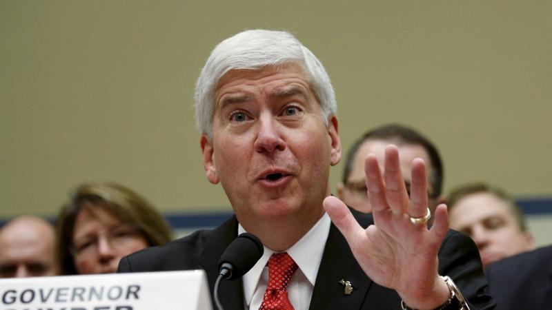 VERBATIM: Michigan gov., EPA chief trade barbs