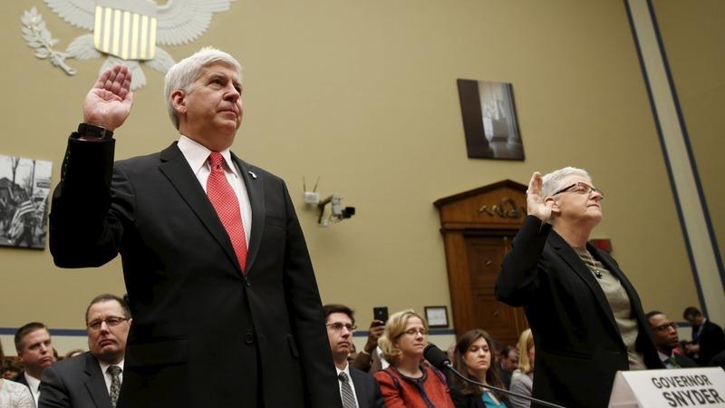 Congress demands resignations at Flint hearing