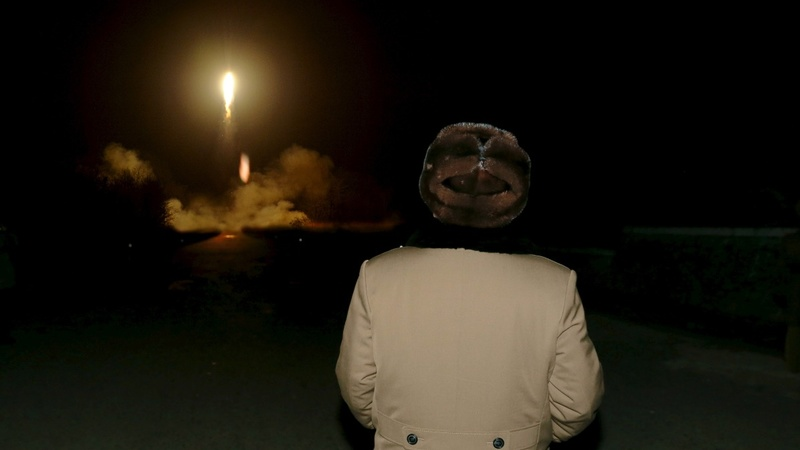 N Korea fires ballistic missile into the sea