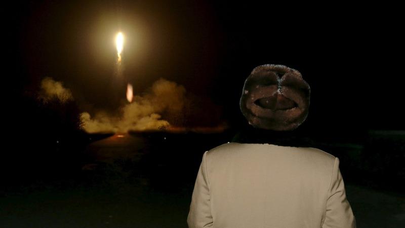 N Korea fires ballistic missile into the sea