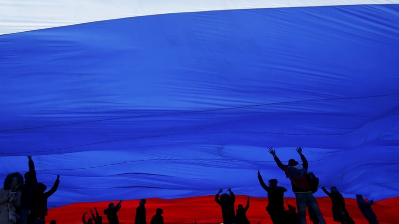 Crimea celebrates annexation