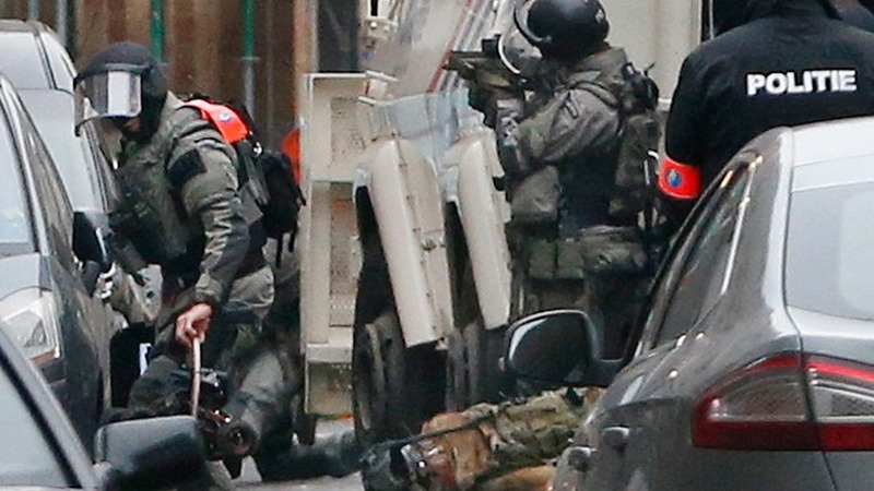 Paris suspect arrested in Brussels raid