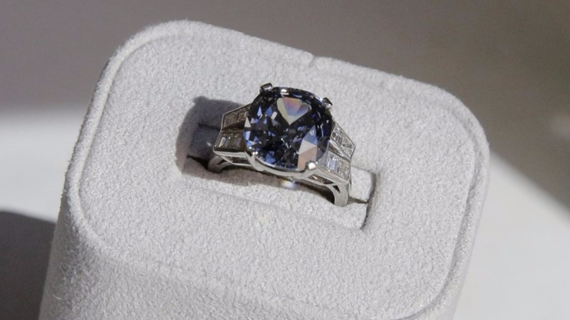 Shirley Temple's ring on sale at Sotheby's