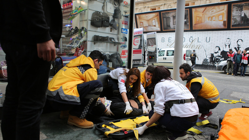 Suicide bomb kills at least 4 in Istanbul
