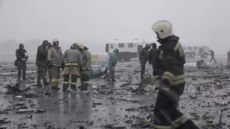 Plane crashes in southern Russia killing 62