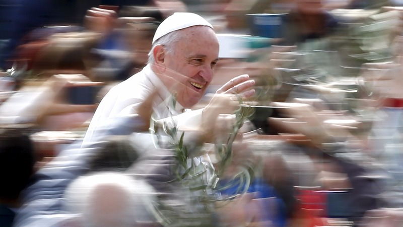 Pope's Palm Sunday message on refugee crisis