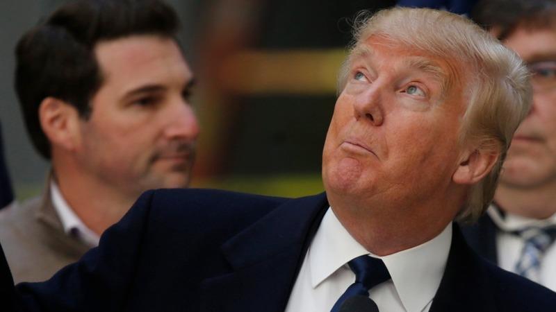 Trump looks to quell anti-Trump storm